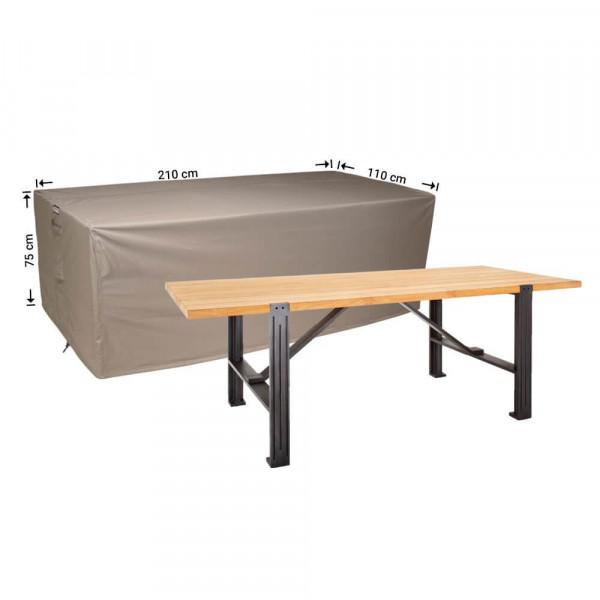 Protective cover for a garden table 210 x 110 H: 75 cm