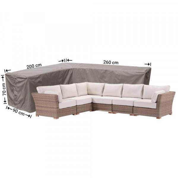 Corner sofa cover 240 x 170 x 90 H: 70 cm