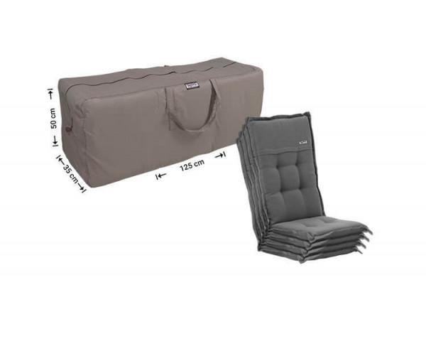 Storage bag for patio cushions 125 x 35 H: 50 cm