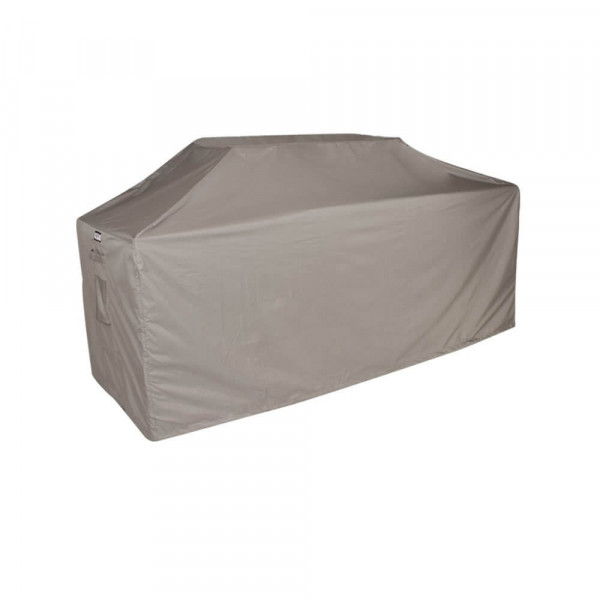 Protection cover for an outdoor kitchen 220 x 80 H: 125 / 115 cm