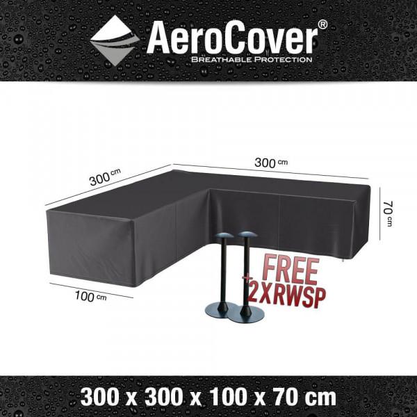 Corner sofa cover 300 x 300 H: 70 cm