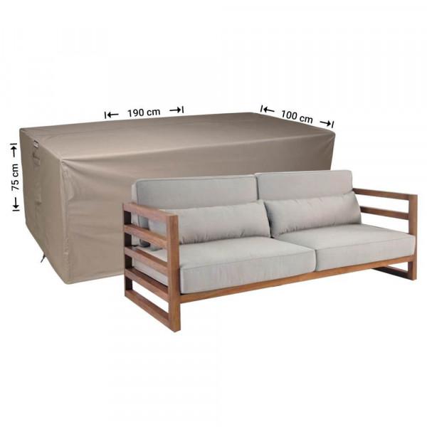 Garden lounge sofa cover 190 x 100 H: 75 cm