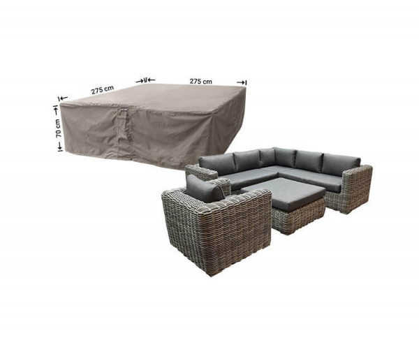 Cover for outdoor lounge set 275 x 275 H: 70 cm