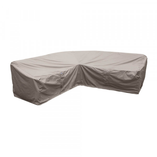 L-shaped dining sofa cover 240 x 240 x 90, H: 100 / 65