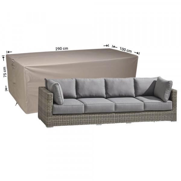 Cover for patio sofa 290 x 100 H:75 cm