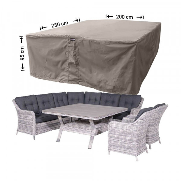 Lounge set garden furniture cover 250 x 200 H: 95 cm