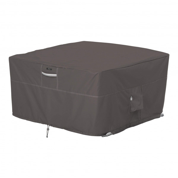 Square firepit table cover 107 x 107 H: 56 cm