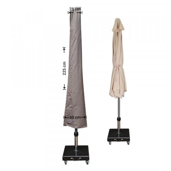 Garden parasol cover H: 225 cm