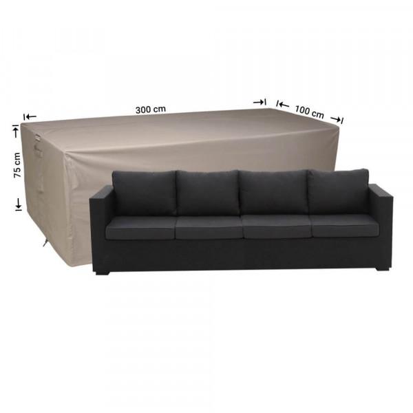Premium cover for a lounge sofa 300 x 100 H: 75 cm