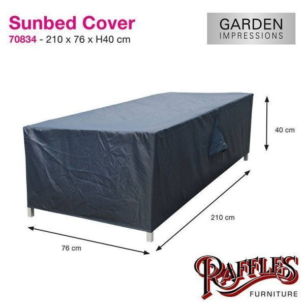 Sunbed Cover 210 x 76 H: 40 cm