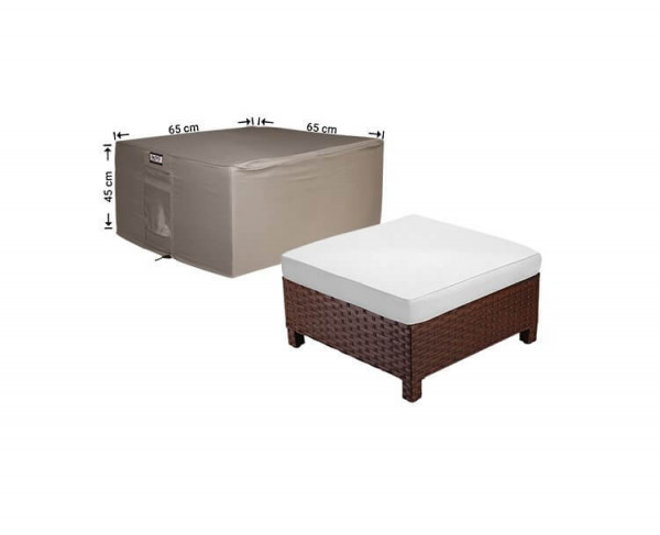 Protection cover for footstool 65 x 65 H: 45 cm