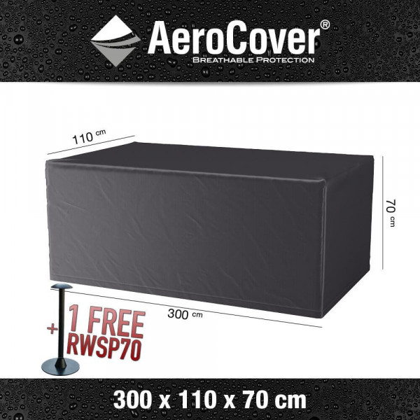 Protection cover for table XL 300 x 110 H: 70 cm