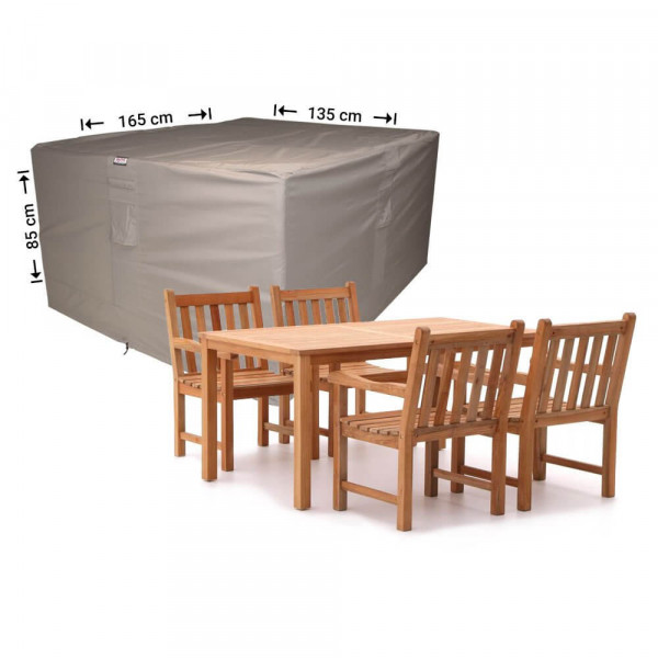 Garden cover for dining furniture 165 x 135 H: 85 cm