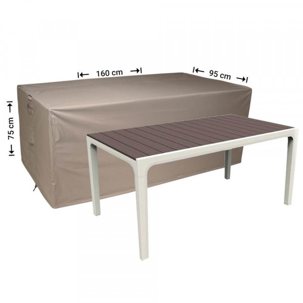Outdoor table cover 160 x 95 H: 75 cm