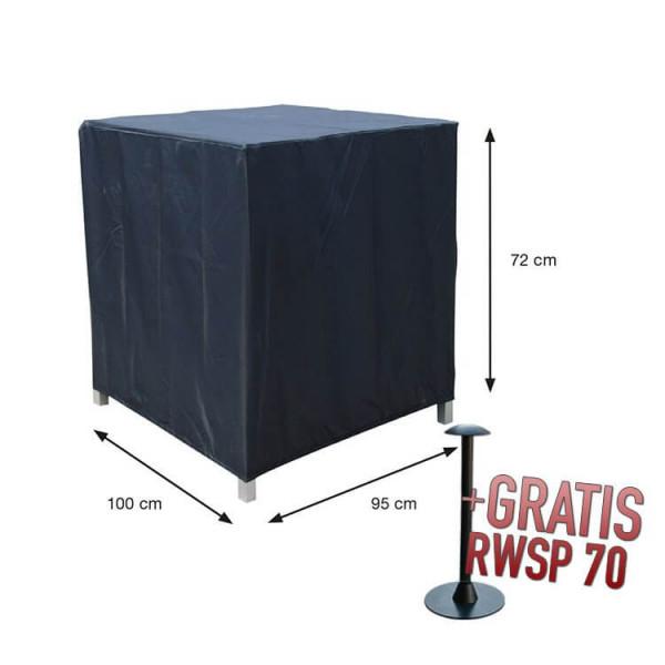 Outdoor loungechair cover 100 x 95 cm H: 72 cm