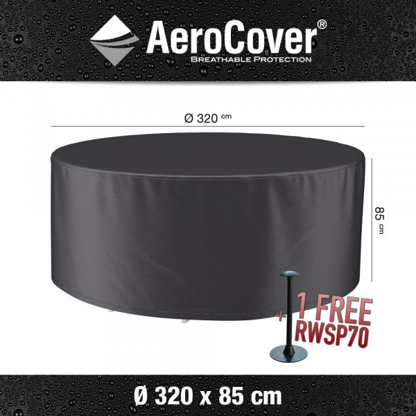Protection cover for a round table Ø 320 cm & H: 85 cm