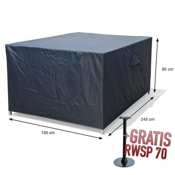 Gardenset cover 245 x 190 H: 85 cm