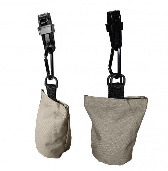 6 Sandbags or Cover weighters