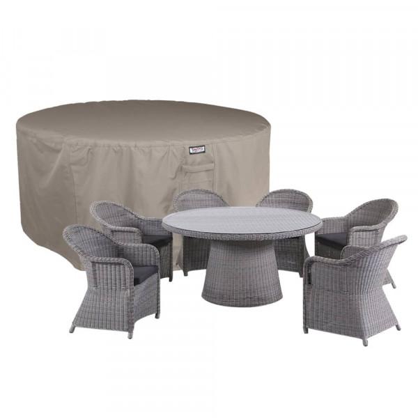 Circular furniture cover Ø: 205 cm & H: 85 cm
