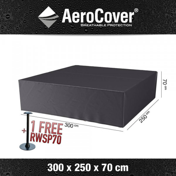 Protective cover for lounge furniture 300 x 250 H: 70 cm