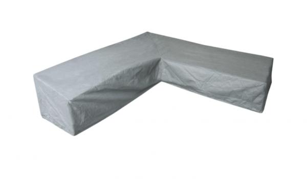 Lounge set cover L-shape 325 x 325 H: 105 / 70 cm