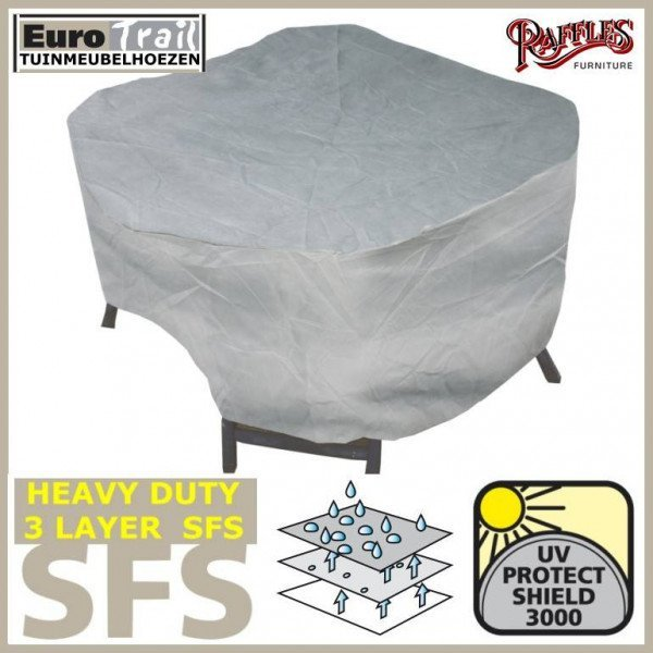 Weather cover for round patio set Ø 320 x 80 cm