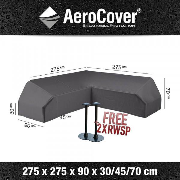 Cover for platform corner sofa 275 x 275 x 90 H: 30/45/70 cm