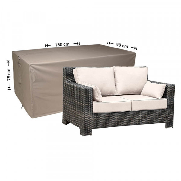 Cover for rattan lounge sofa 150 x 90, H: 75 cm