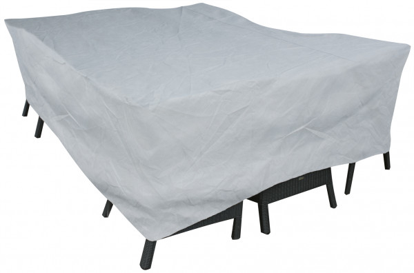Weather cover for rectangular furniture set 160 x 150 H: 110 cm