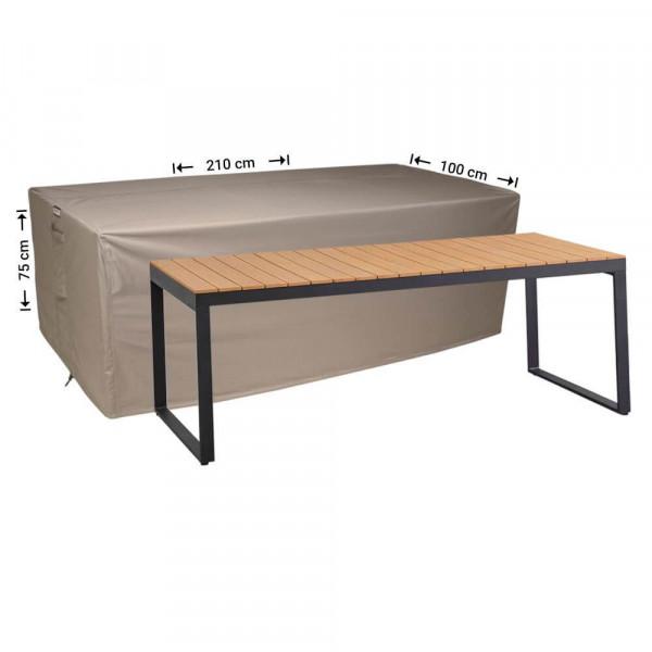 Protective cover for a garden table 210 x 100 H: 75 cm