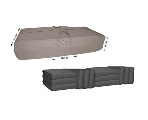Outdoor cushions storage bag 200 x 90 H: 40 cm