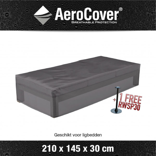 Cover for sun lounger 210 x 145 cm, H: 40