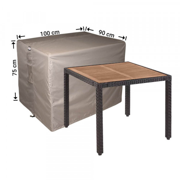 Patio table cover 100 x 90 H: 75 cm