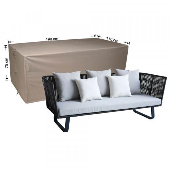 Garden lounge sofa cover 190 x 110 H: 75 cm