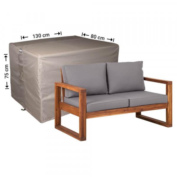 Garden furniture cover lounge sofa 130 x 80 H: 75 cm
