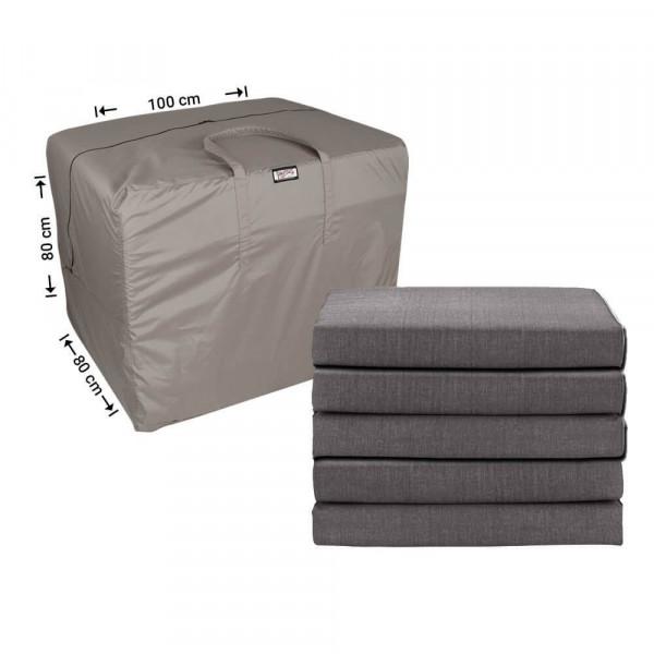 Storage bag for patio cushions 100 x 80 H: 80 cm