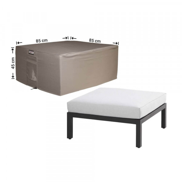 Protection cover for footstool 85 x 85 H: 65 cm