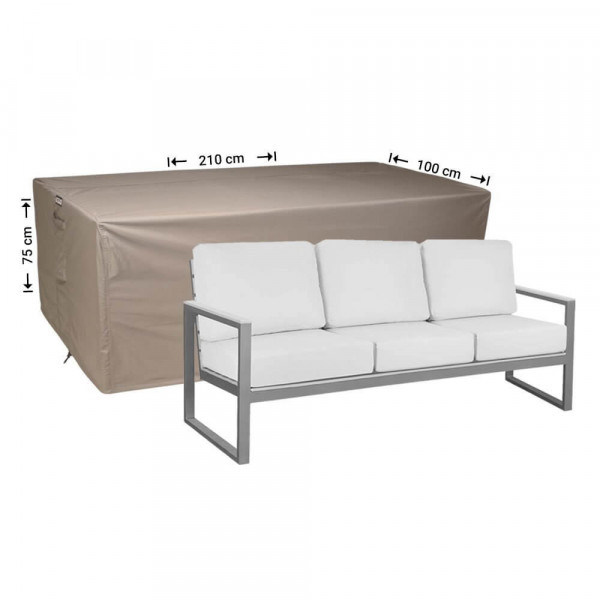 Garden sofa cover 210 x 100 H: 75 cm