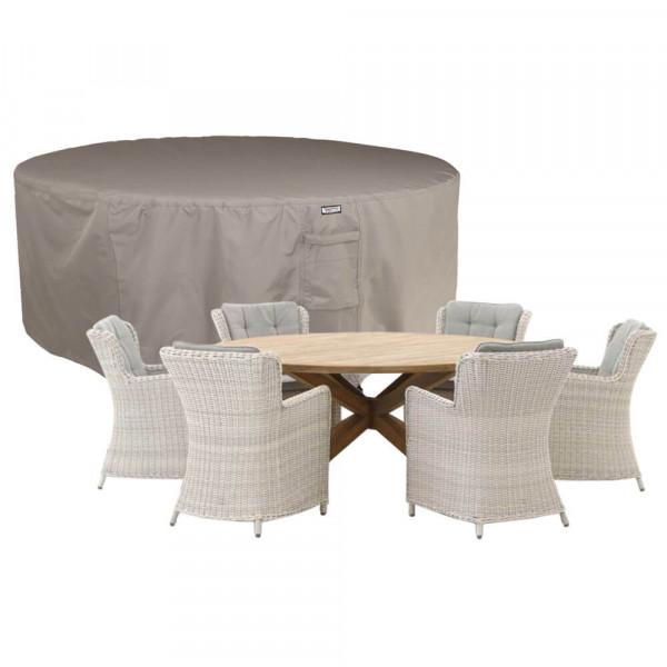 Circular patio set cover Ø: 275 cm & H: 85 cm