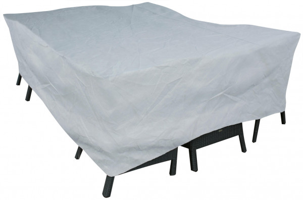 Weather cover for rectangular furniture set 140 x 120 H: 100 cm