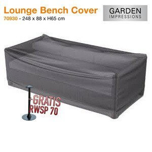 Loungesofa protection cover 248 x 88 H: 65 cm