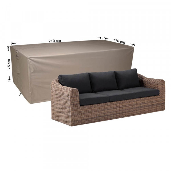 Garden sofa cover 210 x 110 H: 75 cm