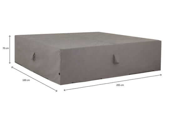 Cover for loungeset 205 x 100 H: 70 cm