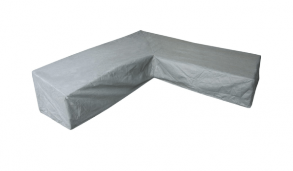L-shaped cover for a dining corner sofa 305 x 250 H: 100 / 70 cm