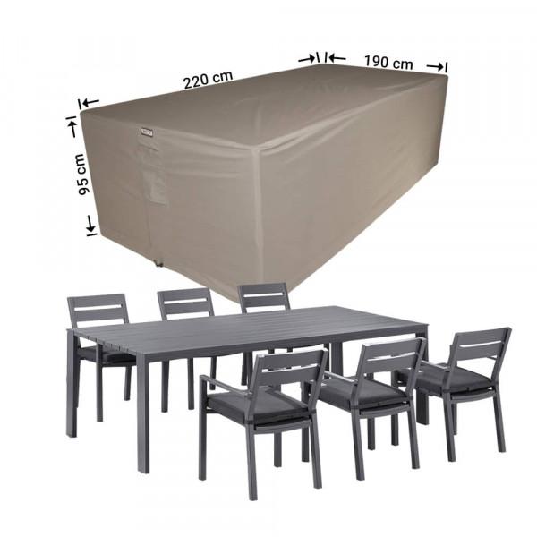 Cover for rectangular dining set 220 x 190 H: 95 cm