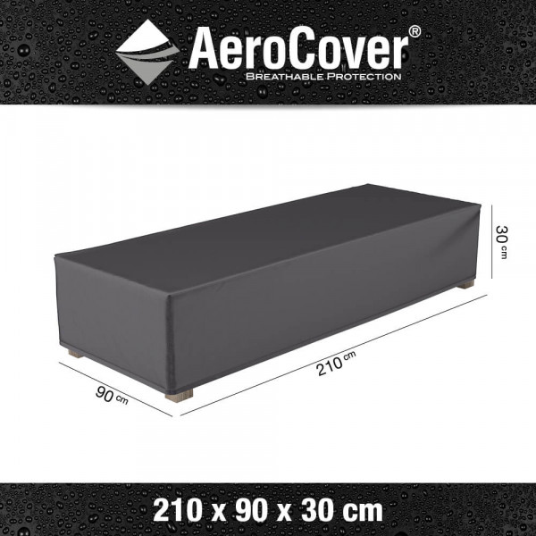 Cover for sun lounger 210 x 75 cm, H: 30