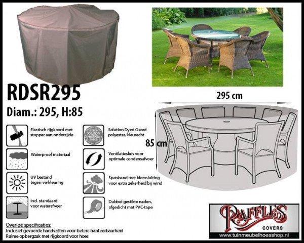 Cover for circular patio set Ø: 295 cm & H: 85 cm