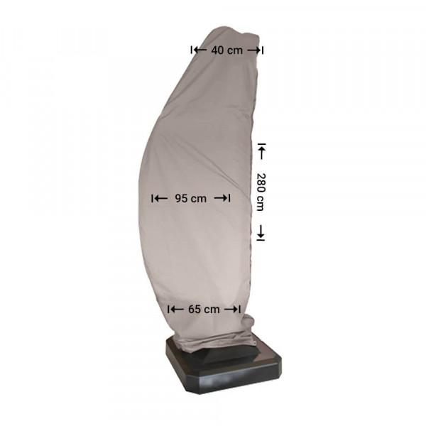 Cantilever parasol cover H: 280 cm