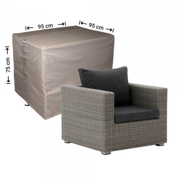 Lounge chair cover 95 x 95 H: 75 cm