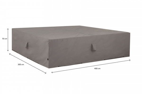 Cover for loungeset 400 x 300 H: 70 cm